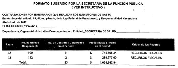 DIRECTOR GENERAL DE PROGRAMACION Y PRESUPUESTO